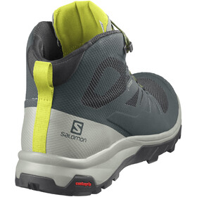Salomon OUTline Mid GTX Buty Mężczyźni, green gables/mineral gray/evening primrose